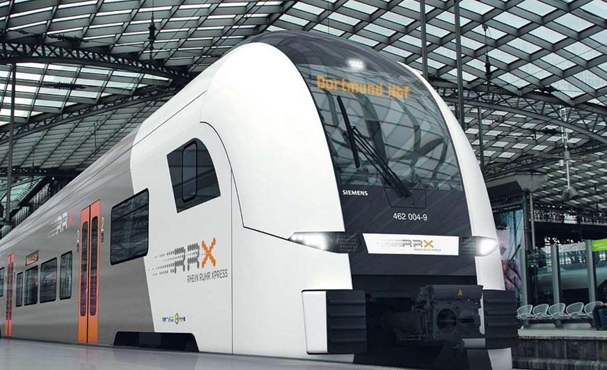 Pociąg ekspresowy Ren-Ruhra (RRX) jest projektem stulecia. Od 2018 r. nowoczesne pociągi elektryczne mają zmniejszyć stale rosnące problemy komunikacyjne w aglomeracji Ren-Ruhra.