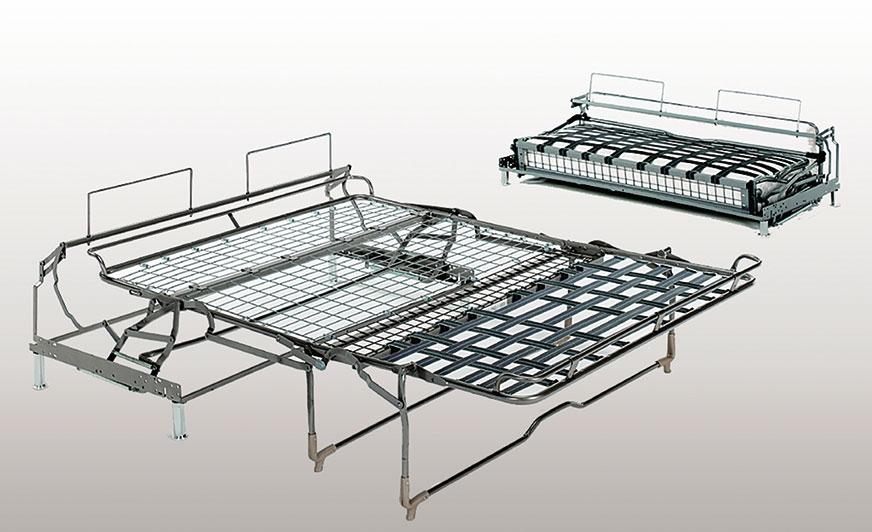 Jeden produktów firmy Renato Nisi Srl. Rama odpowiednio zabezpieczona i pomalowana wysokiej jakości powłoką proszkową.