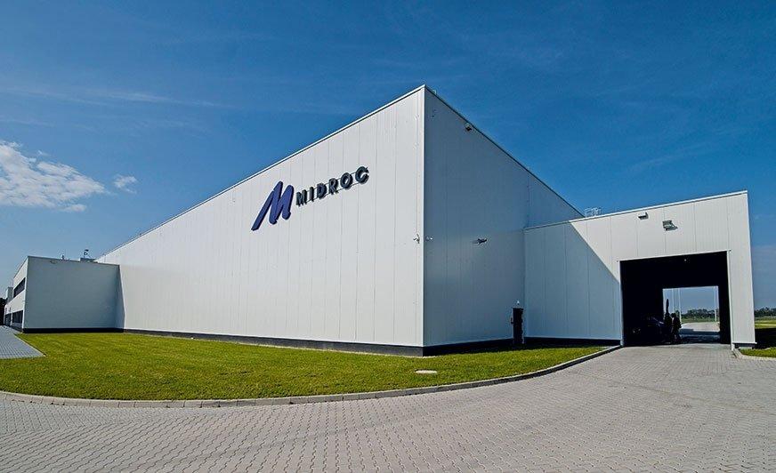 Nowa lakiernia firmy Alucrom w Oleśnicy należącej do globalnej korporacji Midroc.
