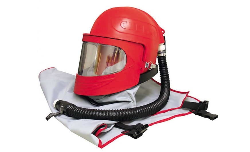 Helm Clemco Apollo 600.