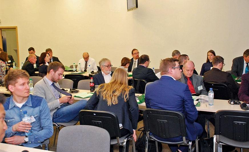 Uczestnicy pozytywnie ocenili obszerny program konferencji.