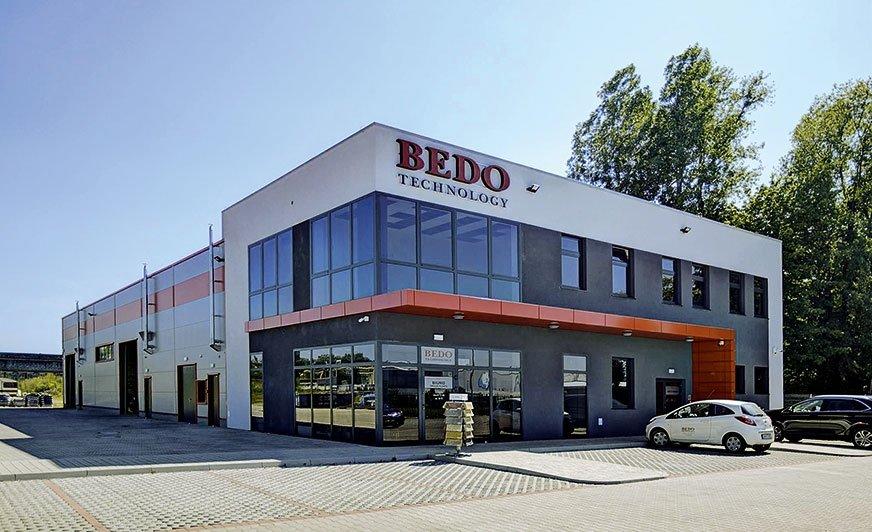 Siedziba firmy Bedo Technology.