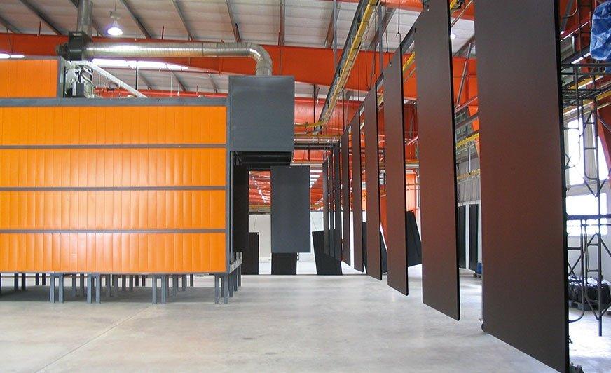 Firma AABO-IDEAL jest jednym z największych dostawców kompletnych systemów lakierniczych w Europie.