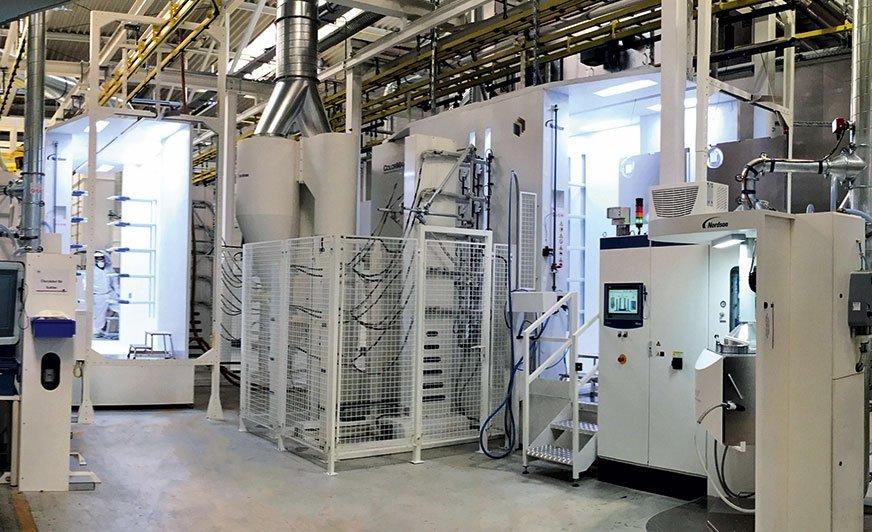 Lakierowanie proszkowe 4.0 – maksymalizacja sterowania procesem za pomocą technologii fazy gęstej oraz analiza danych produkcyjnych w celu optymalizacji i wydajnego ustawienia parametrów aplikacji powłoki.