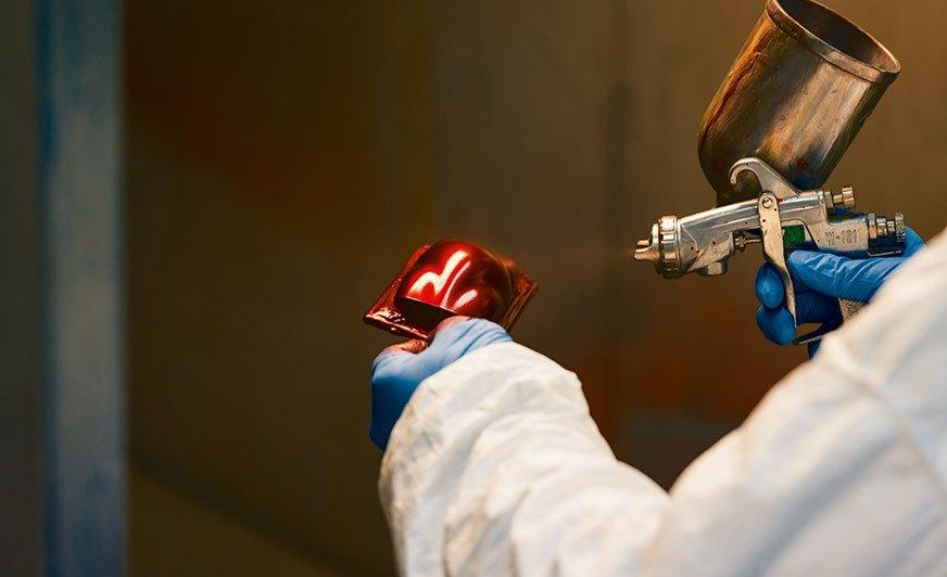 Wyraziste pigmenty efektowe zapewniają wysoką jakość wykończenia różnym kategoriom wyrobów powlekanych metodami przemysłowymi.