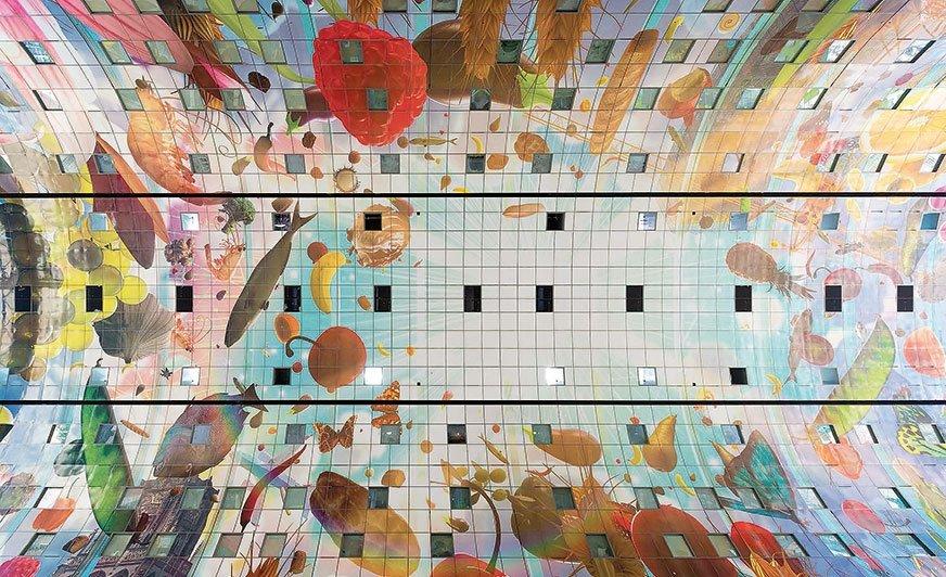 Farby proszkowe Syntha Pulvin zaspokajają najbardziej wymagające potrzeby projektów architektonicznych.