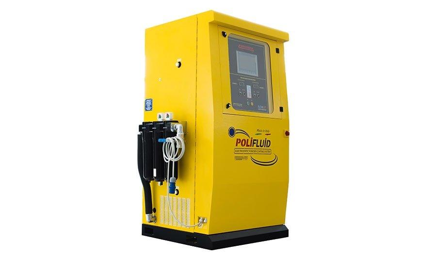 Urządzenie Polifluid od Eurosider optymalizuje dozowanie proszku podczas aplikacji poprzez wykorzystanie azotu.