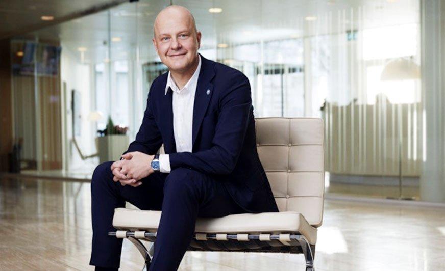 Lars Petersson, prezes firmy Hempel.