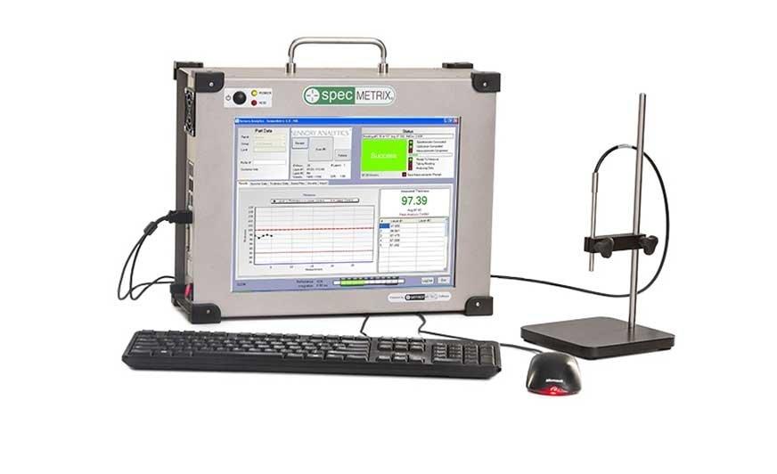Czujniki z opatentowaną technologią ROI zapewniają systemom SpecMetrix bardzo wysoką precyzję pomiaru grubości powłoki.