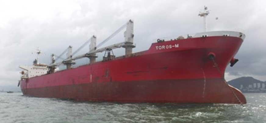 Nowa farba antyporostowa FASTAR XI zabezpieczy m.in. kadłub tureckiej jednostki Toros-M. Źródło: Iskenderun Ship Management