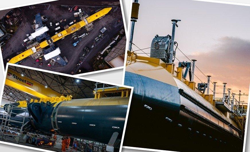 Firma Hempel dostarczyła produkty zabezpieczające turbinę pływową O2 przed korozją i namnażaniem mikroorganizmów wodnych.
