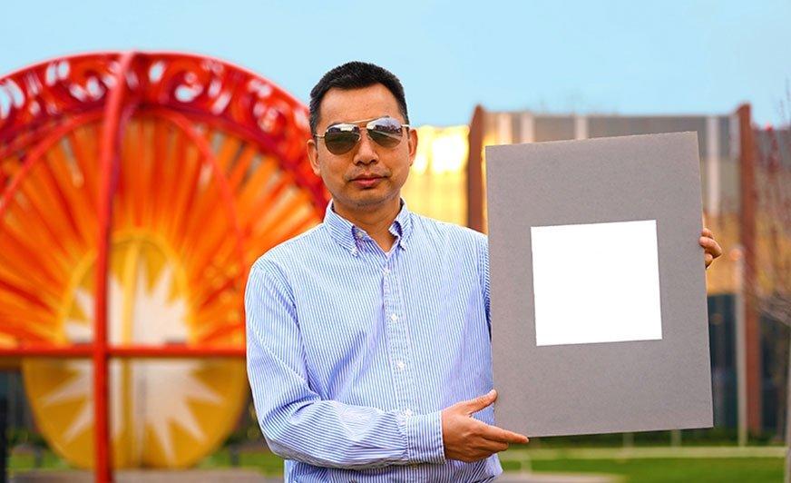 Najbielsza farba świata jest w stanie odbić 98% promieniowania UV.
