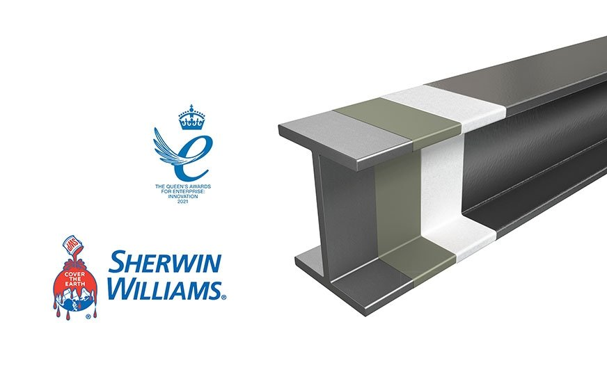 Pasywna powłoka przeciwpożarowa FIRETEX FX6002 firmy Sherwin-Williams zdobyła uznanie jury prestiżowej nagrody Queen's Award for Enterprise.
