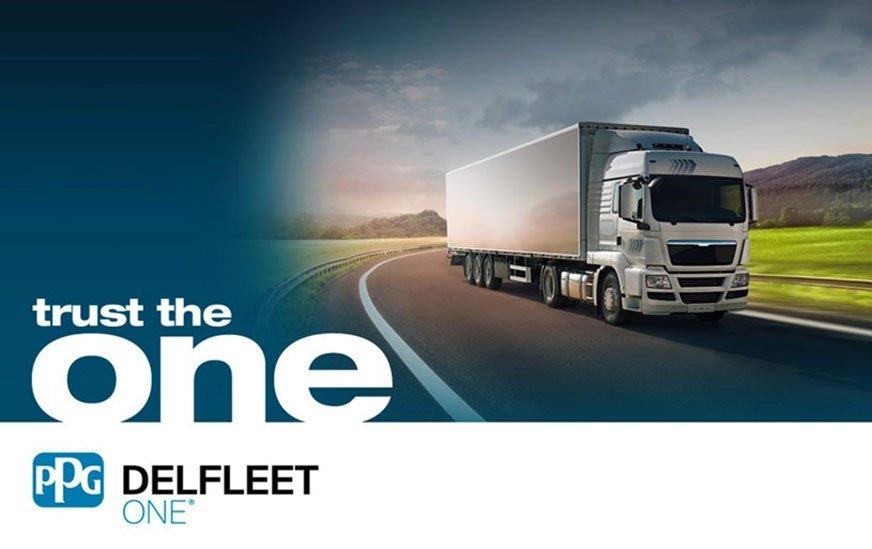 Seria lakierów Delfleet One do pojazdów komercyjnych firmy PPG wyróżnia się m.in. bardzo niską zawartością LZO.
