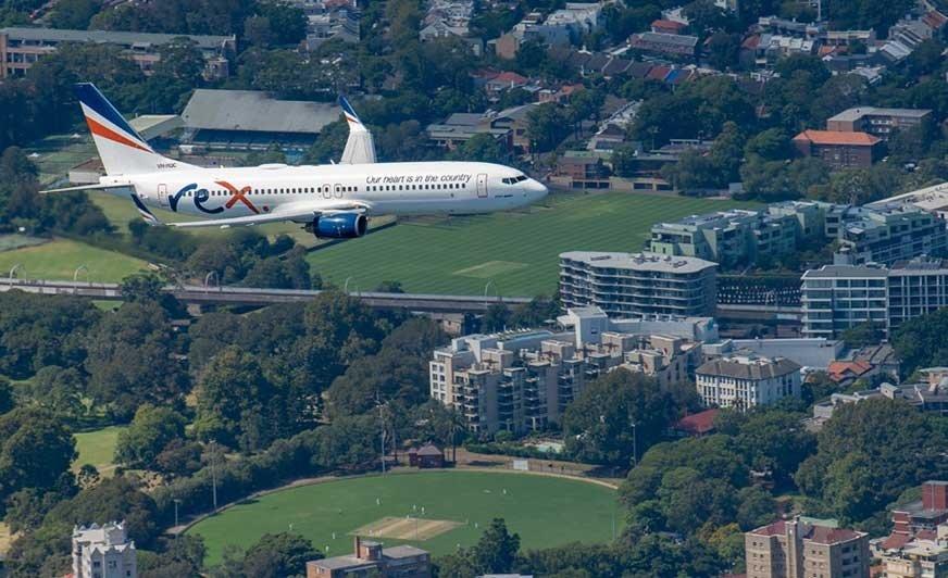 Powłoki lotnicze PPG posłużyły do zabezpieczenia poszyć nowych Boeingów zakupionych przez australijskie linie Rex Airlines. Źródło: PPG