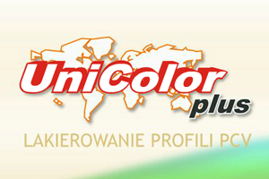 Unicolor Plus - lakierowanie profili PCV